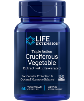 Triple Action Cruciferous Vegetable Extract and Resveratrol