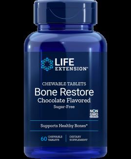 Bone Restore Chewable Tablets (Sugar-Free Chocolate)