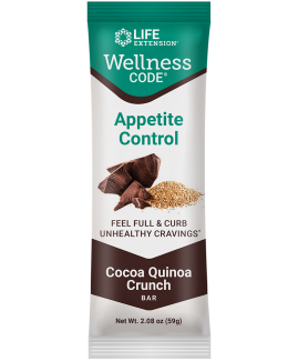 Wellness Code® Appetite Control Bar (Cocoa Quinoa Crunch)