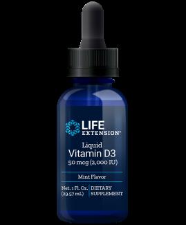 Liquid Vitamin D3 (Mint)