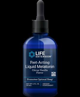 Fast-Acting Liquid Melatonin Citrus-Vanilla Flavor